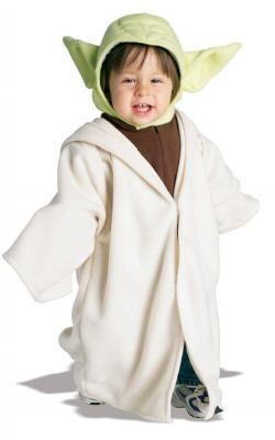 We stock officially licensed Star Wars Yoda fancy dress costume. Shop here for the best Yoda costume for baby price.