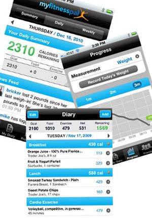 diet tracker app iphone