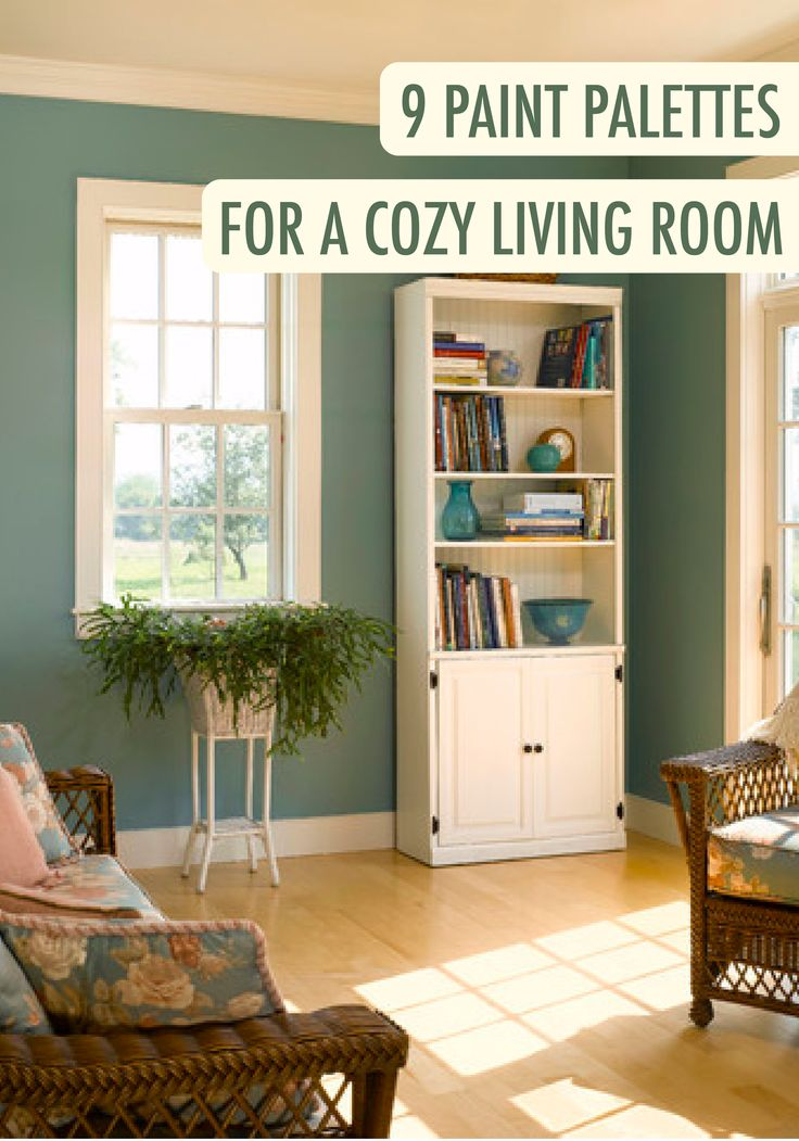 30 best country style inspiration images on pinterest - Images of living room paint colors ...