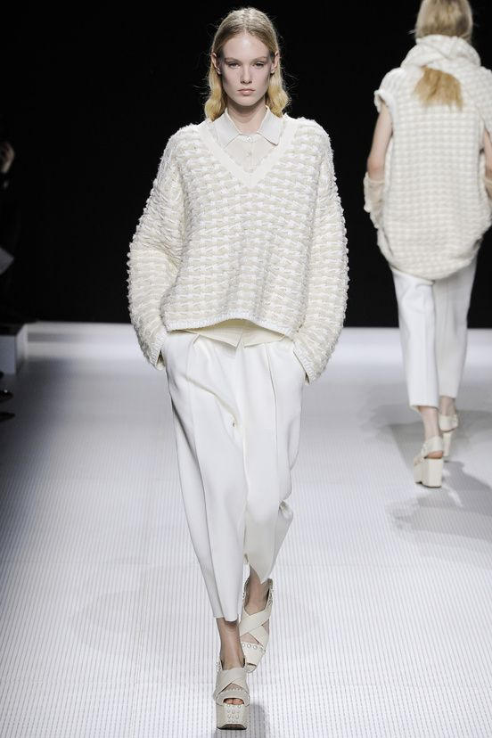Sonia-Rykiel fall-2014 white wool