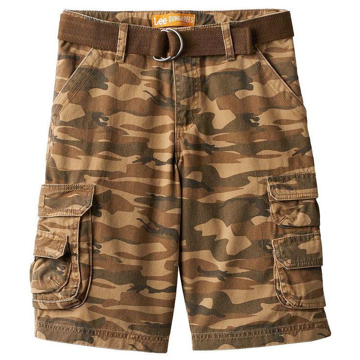 Boys 8-20 Lee Camouflage Twill Cargo Shorts, Boy's, Size: 12, Ovrfl Oth