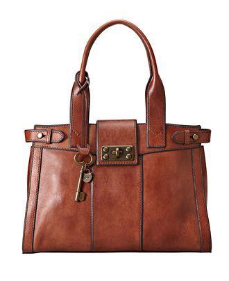 Fossil Vintage inspired handbag at Macy's. Want it!