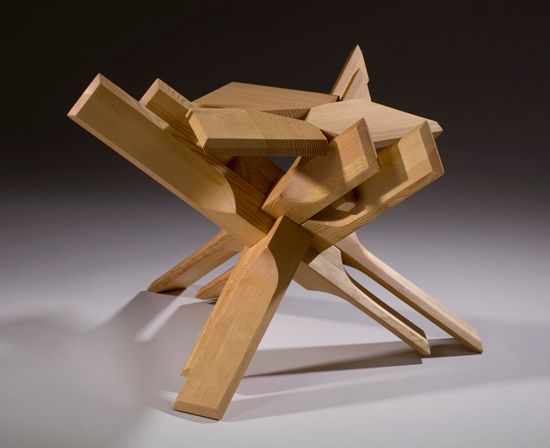 puzzling coffee table
