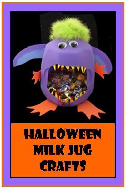 Halloween Milk Jug Crafts