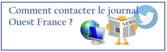 Contact Ouest France de Rennes, Angers, Nantes, Lorient...