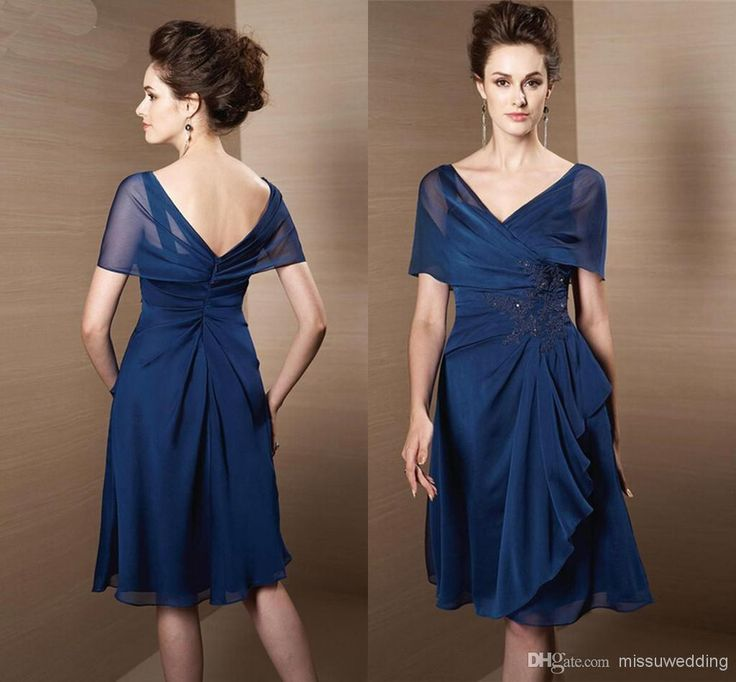 Wholesale Chiffon Mother Dresses - Buy Cheap Chiffon A-line Knee-length Mother of the Bride Dresses Beads Off--shoulder Fashion New Style Plus Size Appliques Women Party Gowns, $83.84 | DHgate
