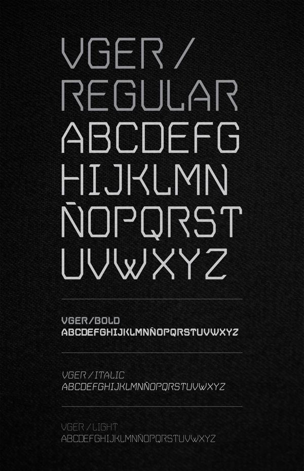V.GER Grotesque on Behance. Free font avilable for download.