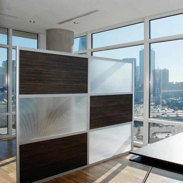 8 Screen With Translucent Wood Laminate Panels Office Dividersmodern Room Dividersdivider Wallsroom