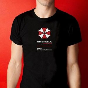 UniversOriginal - T-Shirt / Camiseta Resident Evil - Umbrella Corporation