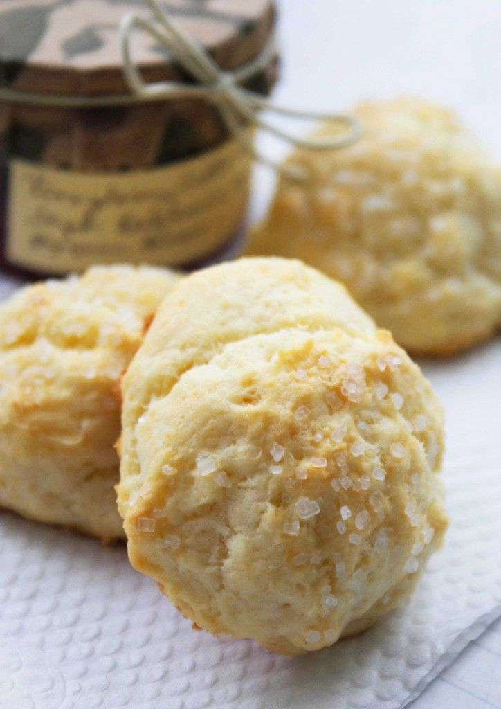 Cream Drop #Scones - these petite scones are by far the easiest scones you'll ever make from scratch!
