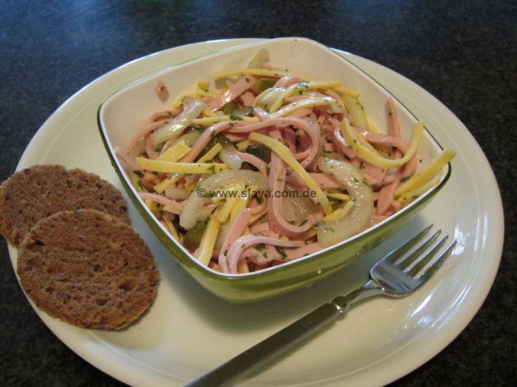 unser Bayerischer Wurstsalat