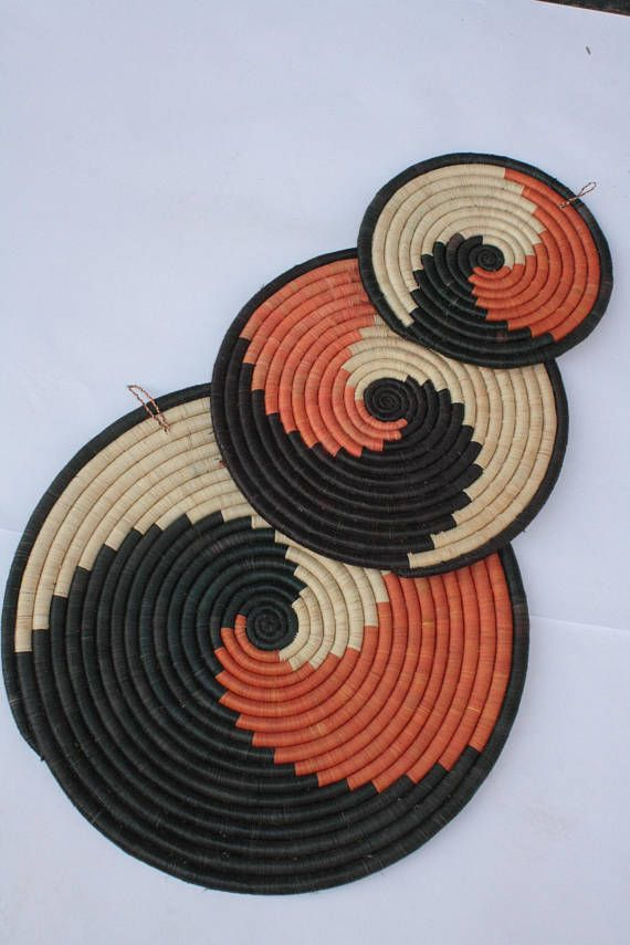 African Basket Extra Large Wall Plate Woven Hanging Rwanda Boho Decor Baskets In 2018 Home
