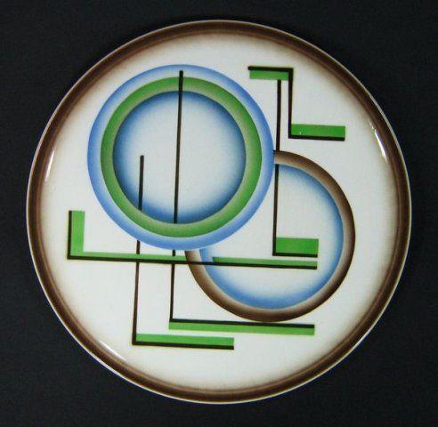 German SD cake plate, deco