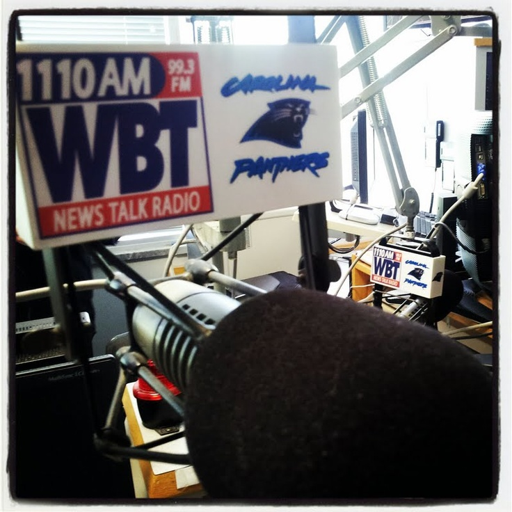 WBT - one of the first AM stations on the east coast - their signal ran from NY down to Cuba before FM. Still on the air today!