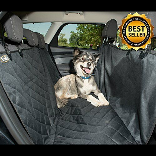 #10: YoGi Prime  LUXURY XL dog seat covers for cars  PADDED Dog Car Hammock Style Waterproof Car Seat Covers for dogs Pet Seat protectors for Trucks SUVs Non Slip pet car seat covers- FREE BONUS(Lint Roller) This is rated as one of the highest selling products online in Pet Supplies  category in Canada. Click below to see its Availability and Price in YOUR country.