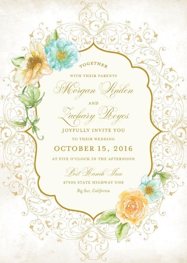 270 best wedding invites & cards images on Pinterest   Weddings ...