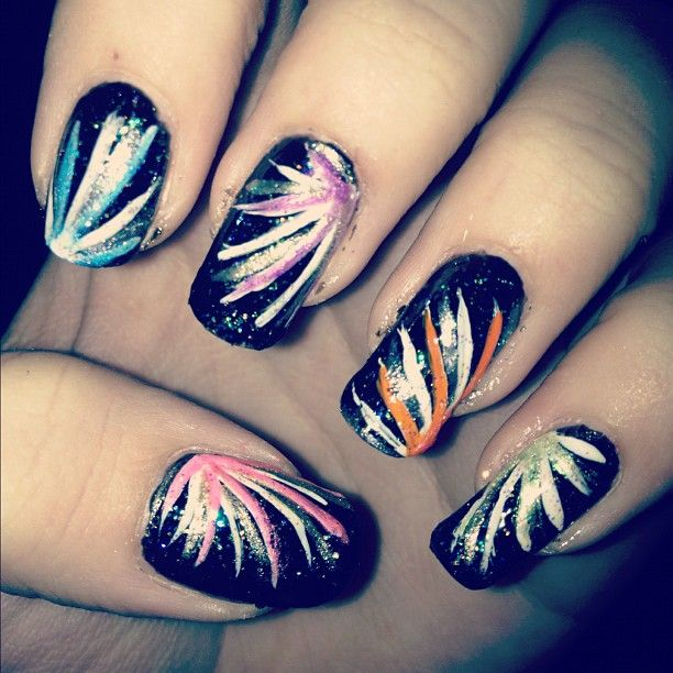 Happy Guy Fawkes fireworks - NAILS Magazine