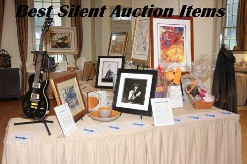 best silent auction items