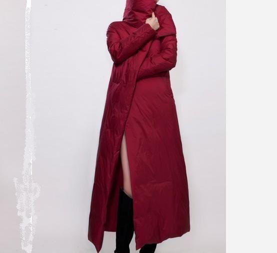 Long Women Down Coat Winter Goose Womens by ttlovewomenclothing