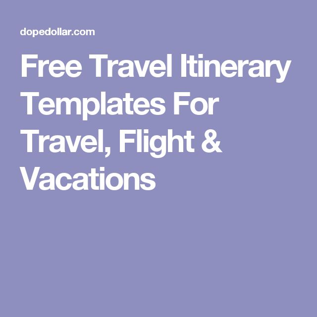 The 25+ best Travel itinerary template ideas on Pinterest Travel - vacation tracking template