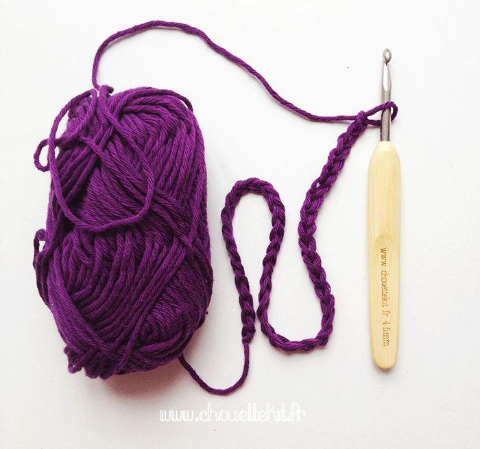 Crochet Leçon n°1: la chainette De bons conseils