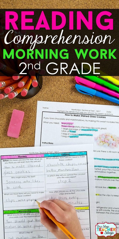 2nd Grade Reading Homework | Reading Comprehension Passages