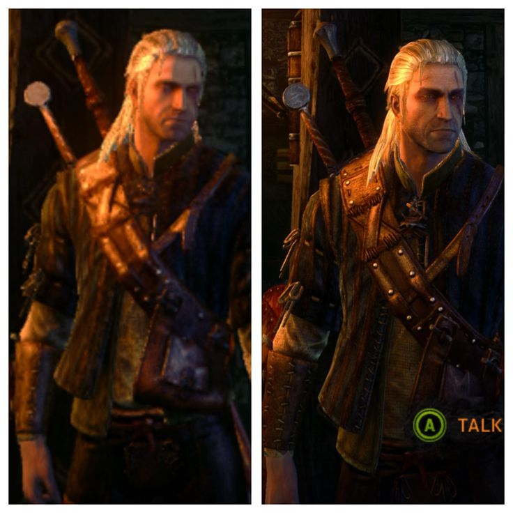 This comparison of Witcher 2 running on X is absolutely blowing my mind.