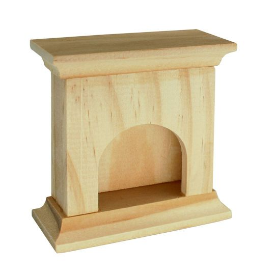 Sparrow Innovations Miniatures Wood Fireplace