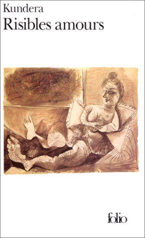 """Risibles amours - Milan Kundera """"Un recueil de sept nouvelles sur des histoires d'amour présentées comme ridicules voire honteuses ou pitoyables. """" http://petitlien.com/mut66"""