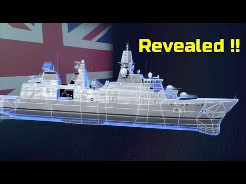 Arrowhead 140 design for UK Type 31e frigate revealed - YouTube