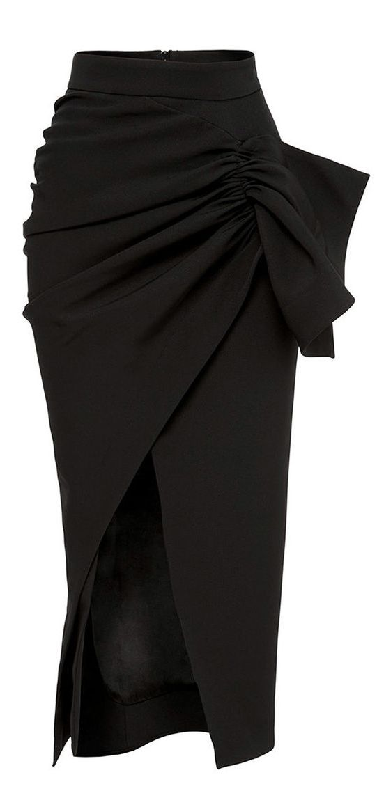 Structured skirt that covers the midsection! Yes, please! Tempest Skirt by Maticevski