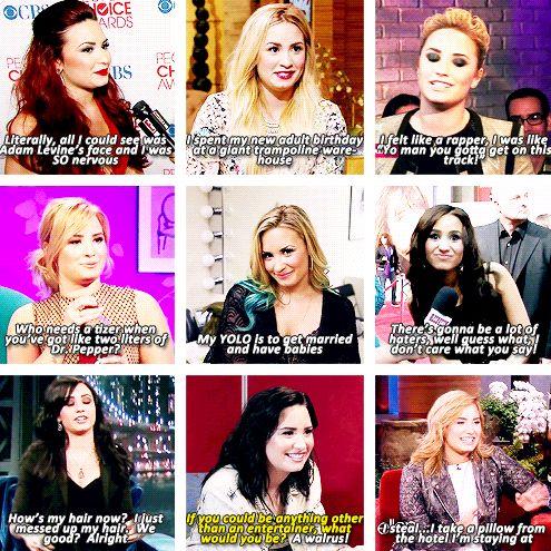 Demi Lovato everyone...