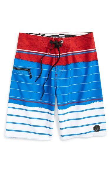 Volcom 'Horizon Mod' Board Shorts (Big Boys)
