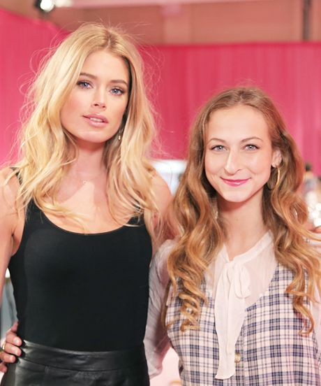 Backstage At The Victoria's Secret Show! #refinery29