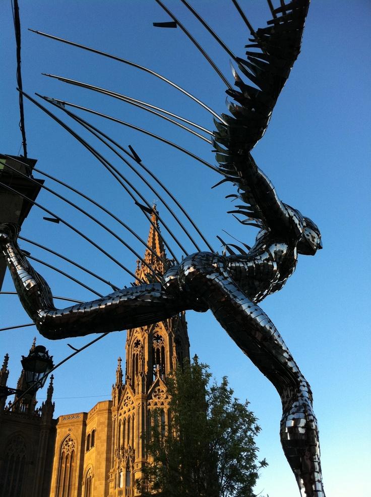 Esculturas en la calle