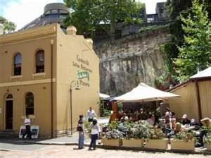 Caminetto restaurant - the Rocks district. Yummy italian & a sweet outdoor patio