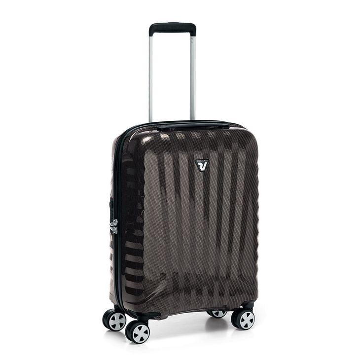 Attavanti - Roncato Italian  Designer Premium Carbon 4 Wheel Cabin Bag - Warm Grey, £210.00 (https://www.attavanti.com/italian-leather-designer-luggage/roncato-italian-designer-premium-carbon-4-wheel-cabin-bag-warm-grey/)