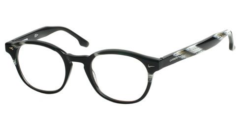 Carrera CA6191 7J3 Glasses - Carrera Glasses and Frames      A simply stylish pair of full rimmed frames for a defined look and feel. The plastic frame has quirkily moulded sides with a hint of colour. Secure & comfortable on the nose - thanks to the smooth acetate finish.