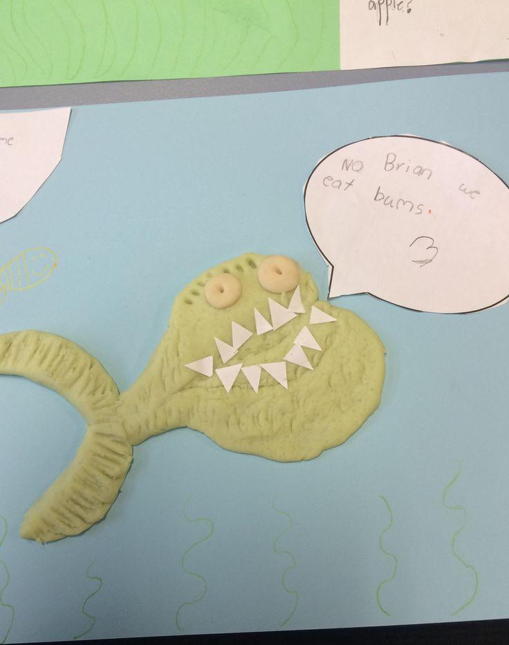 Piranhas don't eat bananas.