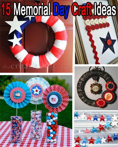15 Memorial Day Craft Ideas