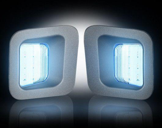License Plate Illumination Kit (03-16 Dodge Ram) by RECON