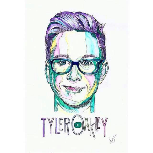 Tyler Oakley fan art!