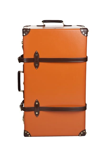 GLOBE-TROTTER Extra deep suitcase with wheels £1,150.00 #GLOBE-TROTTER #SUITCASE