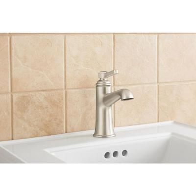 KOHLER Georgeson Single Hole 1-Handle Bathroom Faucet in Vibrant ...