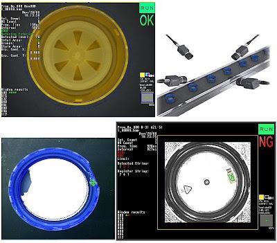 Vision Artificial, inspección de tapones