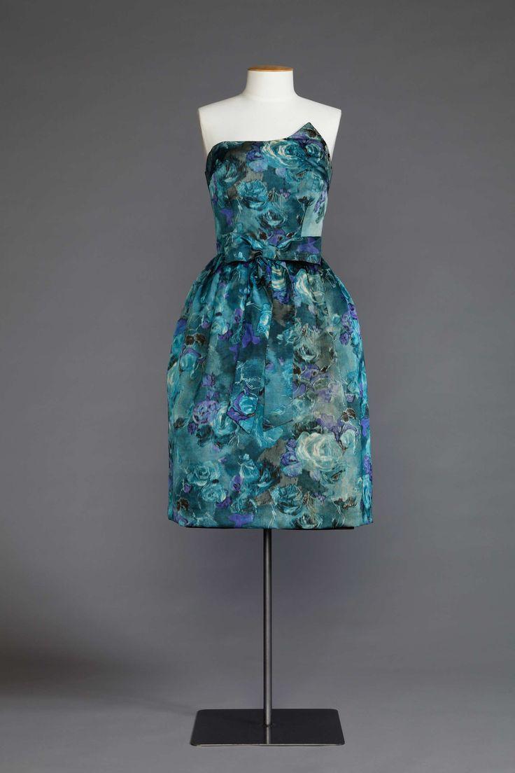 Asymmetric ball dress by Naomi (Byllee) McDonald 1956-1958