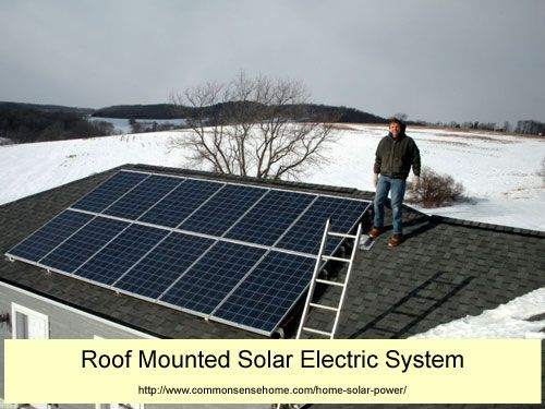 3 Types of Home Solar Power and How to Mount Your Solar Panels