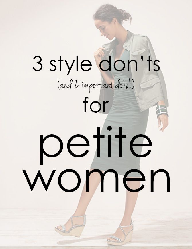Petite Style Fashion Tips Including Where To Shop