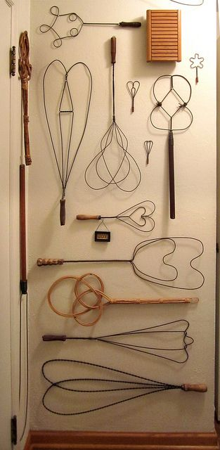 Carpet Beater Collection by Allan Henderson, via Flickr