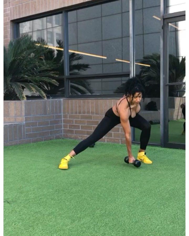 Natalie Yco Eeko On Instagram Quick Full Body Blast With Nothin But Dumbbells Beast Mode Brought To You By T Quick Full Body Full Body Blast Dumbbells